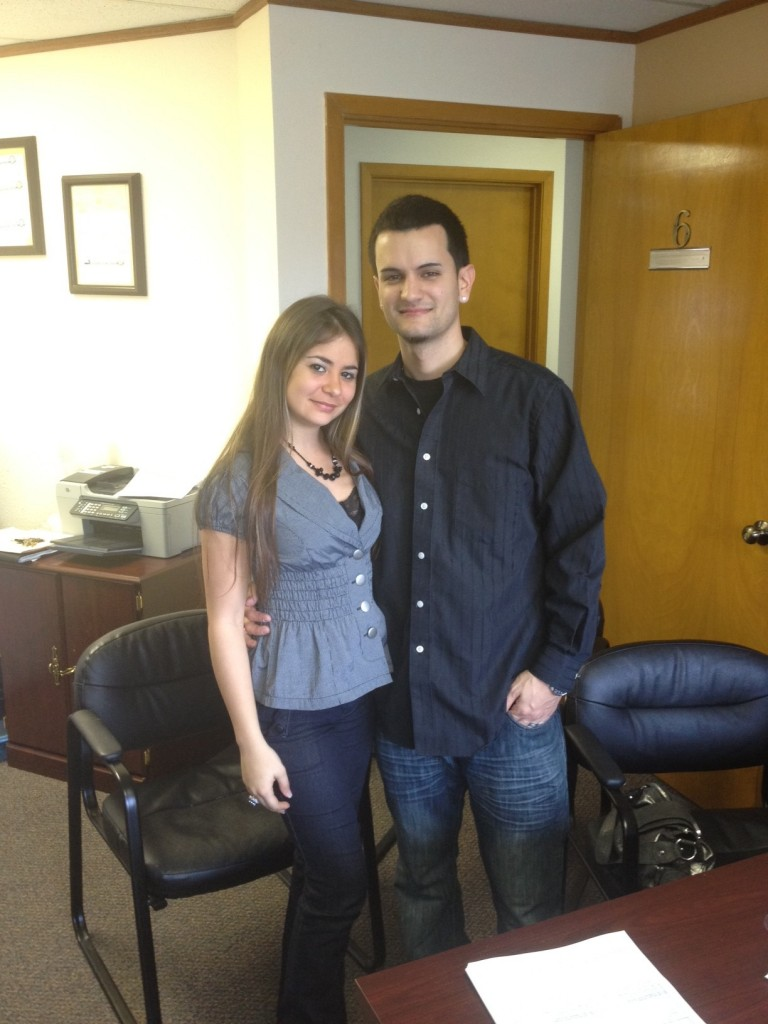 Edwin and Legna closing on their first home in Apopka