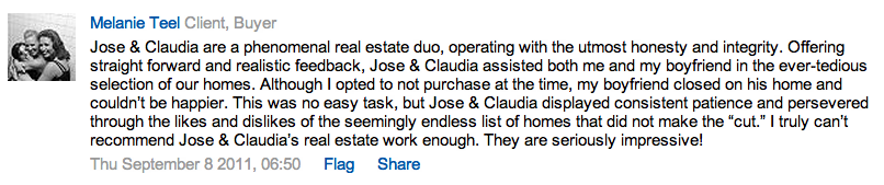 Jose and Claudia Realtors