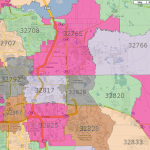 Central Fl Zip Code Map.Orlando Zip Codes Orlando First Time Home Buyer Guide