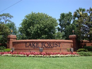 Lake Forest Sanford - Community Sign