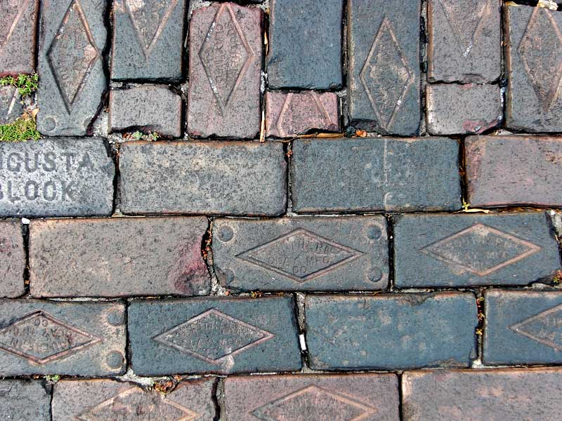 Brick Pavers in Historic Sanford
