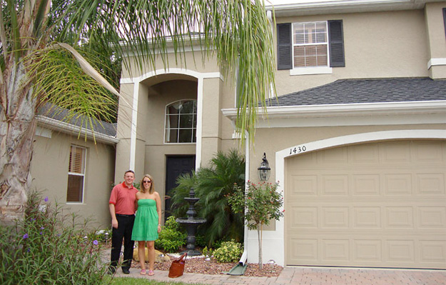 New Homeowners in Sanford FL – Another Happy Couple