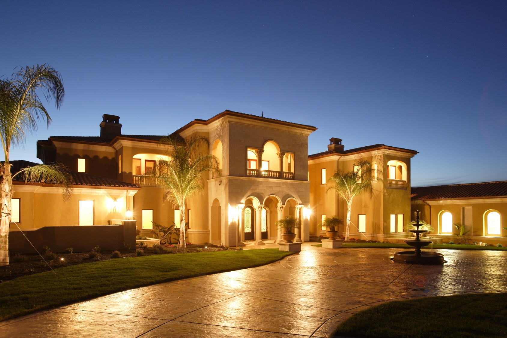Orlando area home styles mediterranean villas to high for Custom mediterranean homes