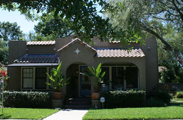 Orlando area home styles mediterranean villas to high for Pueblo house plans