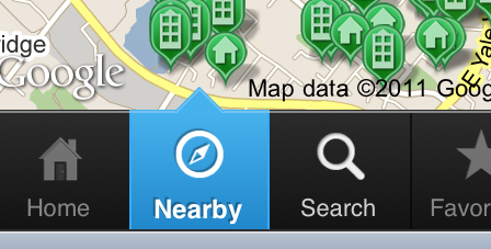 Orlando FL GPS Home Search on Phone