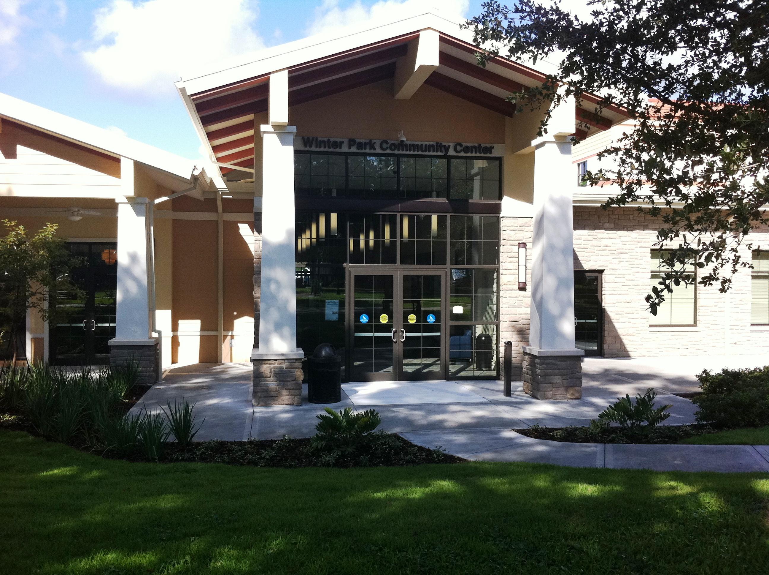 The New Winter Park Community Center