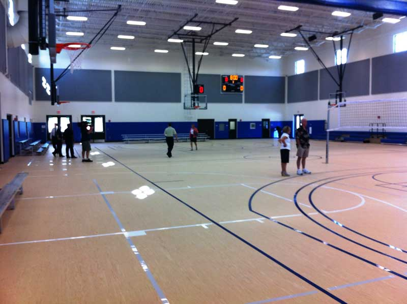 Winter Park FL New Community Center Basketball Court
