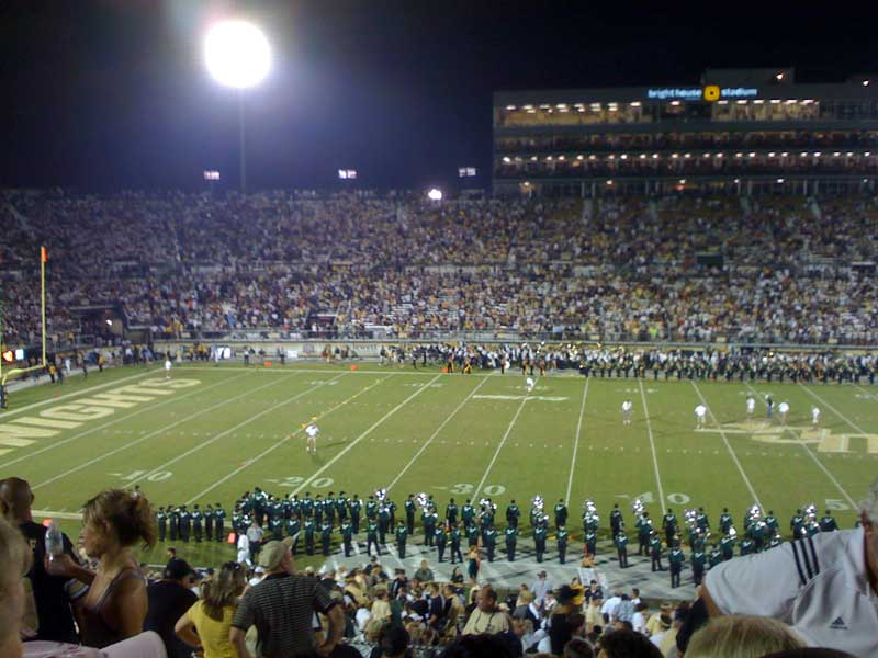 At a Knights Game at UCF