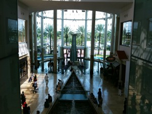 Inside the Mall at Millenia Orlando FL