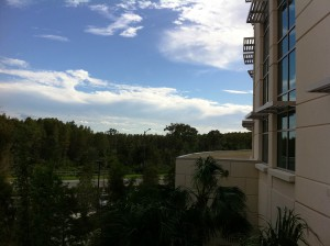 View from UCF College of Medicine