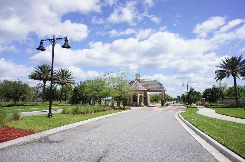 Lake Nona Orlando - Eagle Creek Guard Gated Entrance