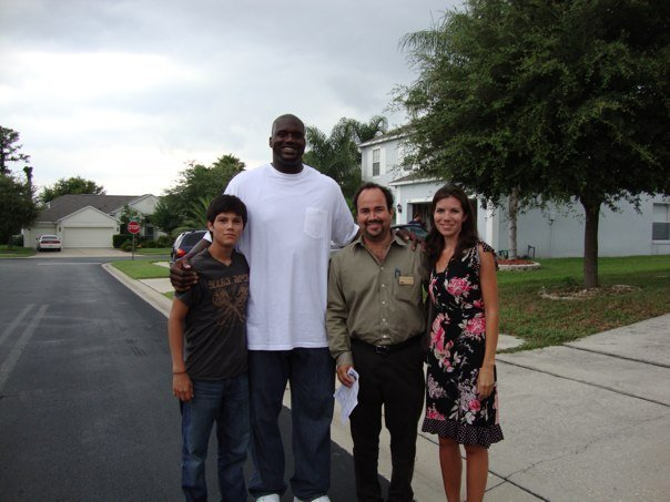 Shaquille O'Neal in Lake Mary