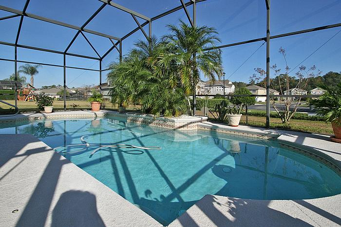 Tudor Style Pool Home For Sale In Astor Farms Sanford Fl