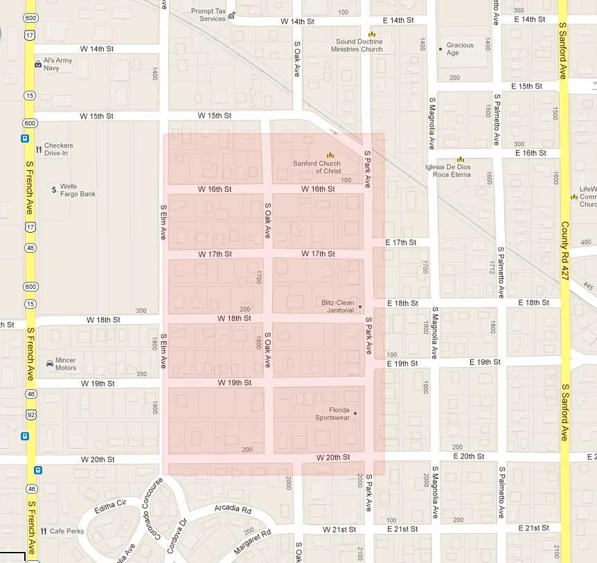 Sanford Florida Map.Sanford Heights Fl Neighborhood Homes For Sale