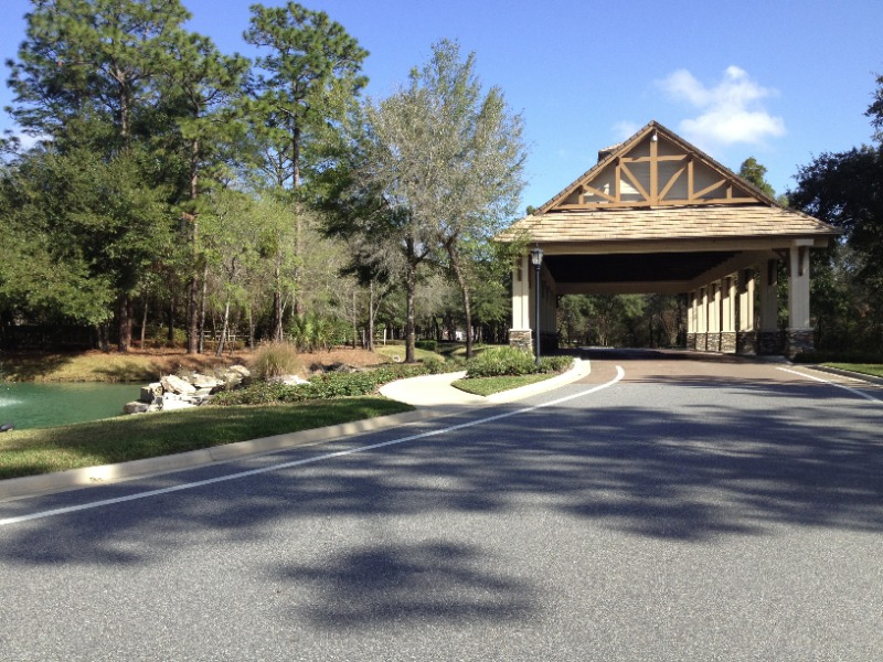 Redtail Golfclub Entrance